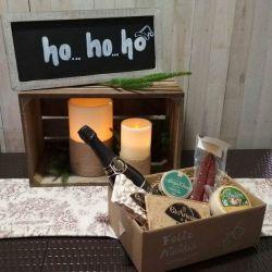 Cesta Navidad Productos Asturianos - Lote Navidad 001