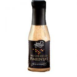 Salsa Asturiana de Cinco Pimientas