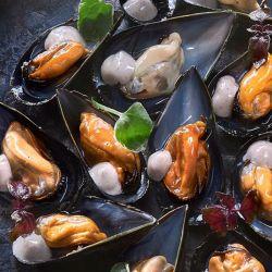 Mejillones en Salsa Asturiana de 5 Pimientas