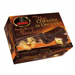 Mini Corbatas de Unquera de Chocolate