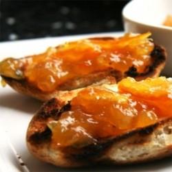 Tostadas de mermelada de Naranja Amarga Asturias