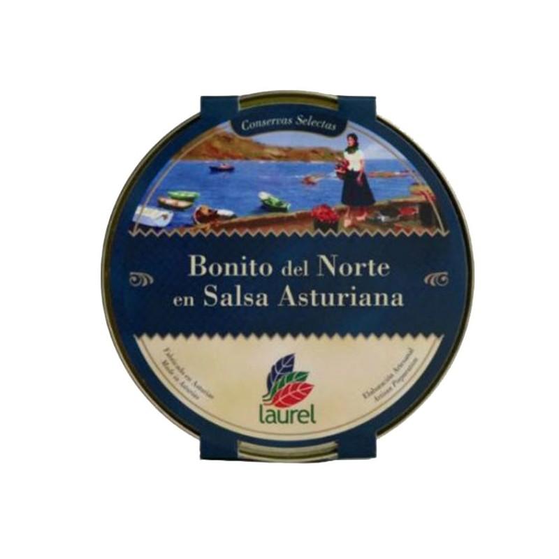 Bonito del Norte en Salsa Asturiana