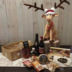 Cesta Navidad Productos Asturianos - Lote Navidad 002