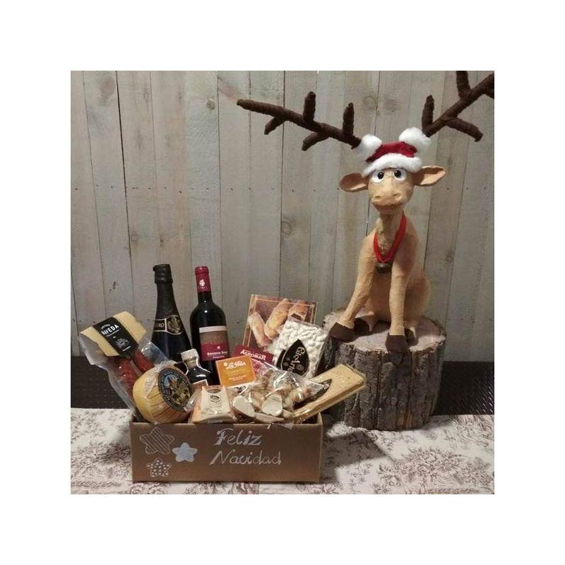 Cesta Navidad 7 Productos Asturianos