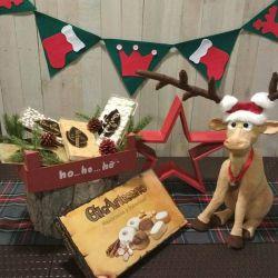 Cesta Navidad Lote Turrones y Polvorones