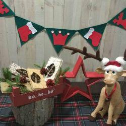 Cesta Navidad Lote Turrones Artesanos Asturias