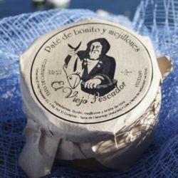 Pate artesano de bonito y mejillones El Viejo Pescador - comprar Online