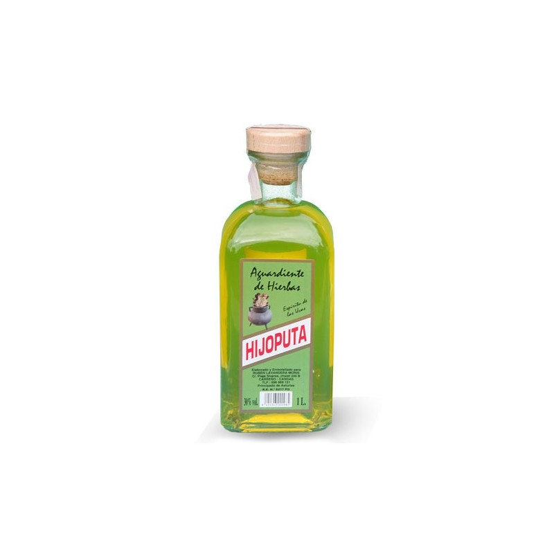 Licor de Hierbas De Asturias 1 litro