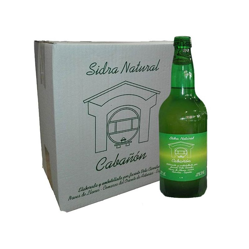 Caja Seis Botellas Sidra Cabañon, Naves, Asturias - Comprar Online