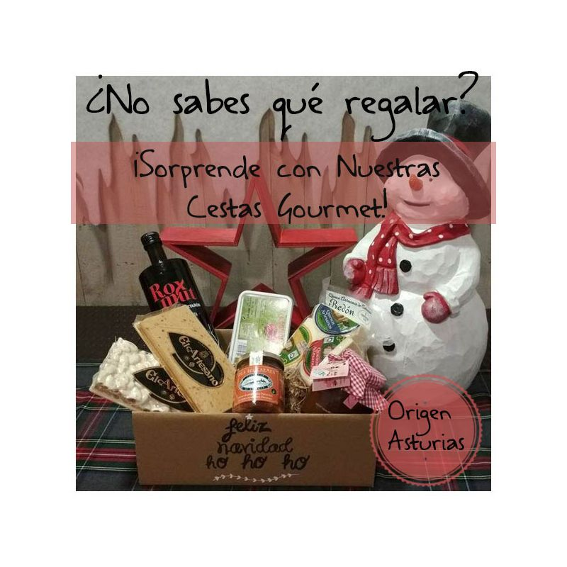 Cesta Navidad 0033 - Productos Asturianos
