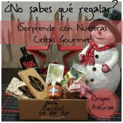 Cesta Navidad 0035 - Productos Asturianos