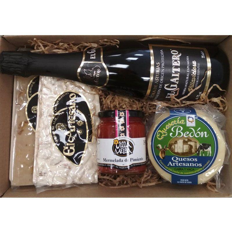 Cesta Navidad Barata - Productos Asturianos