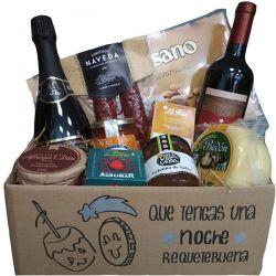 Cesta Navidad con Productos Asturianos de Calidad
