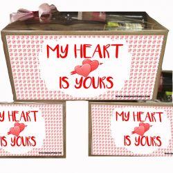 Caja gourmet especial día de los enamorados.