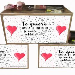 Caja Gourmet dile Te Quiero en San VAlentin