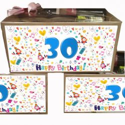 Caja Gourmet Regalo Cumpleaños personalizable