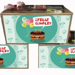 Caja Productos Asturianos Feliz Cumple