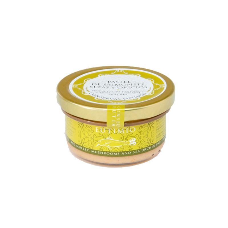 Pastel de Salmonete, Setas y Oricios Artesano