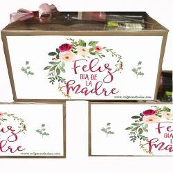 Caja gourmet Feliz Día de La Madre Regalo