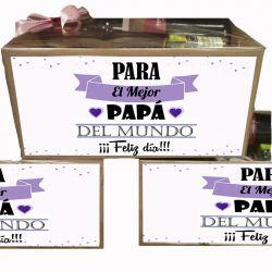 Caja Gourmet Regalo día del Padre - Al mejor Papá