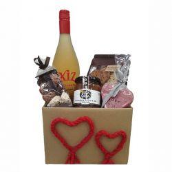 Detalle dulce para SanValentin - Cesta Gourmet