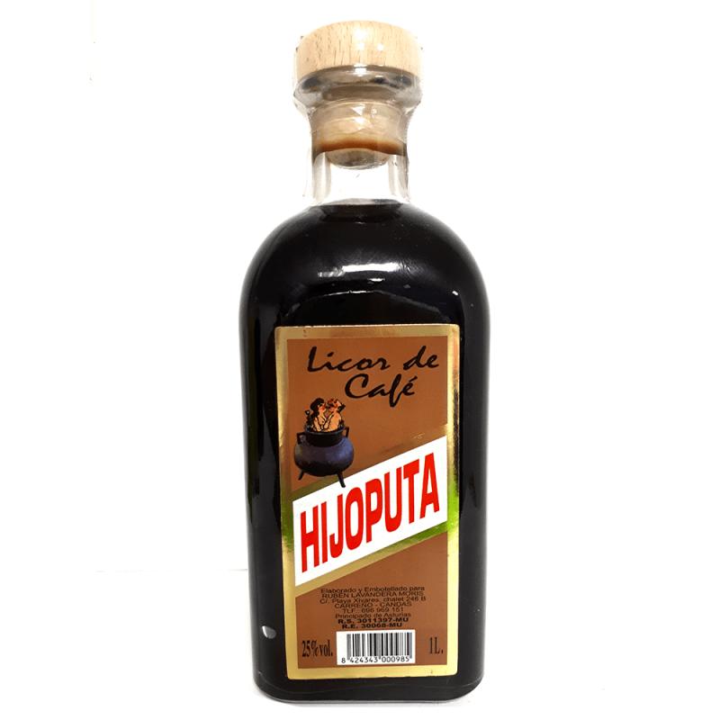 Licor de Café - Productos de Asturias