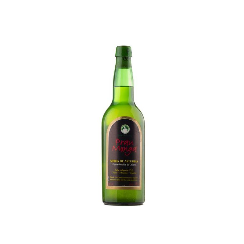Comprar Sidra Natural Asturiana Prau Monga D.O.P.