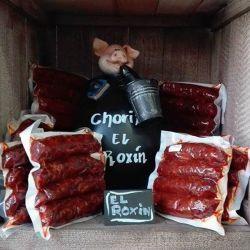 Chorizos El Roxin - Embutidos Asturias - Caseros