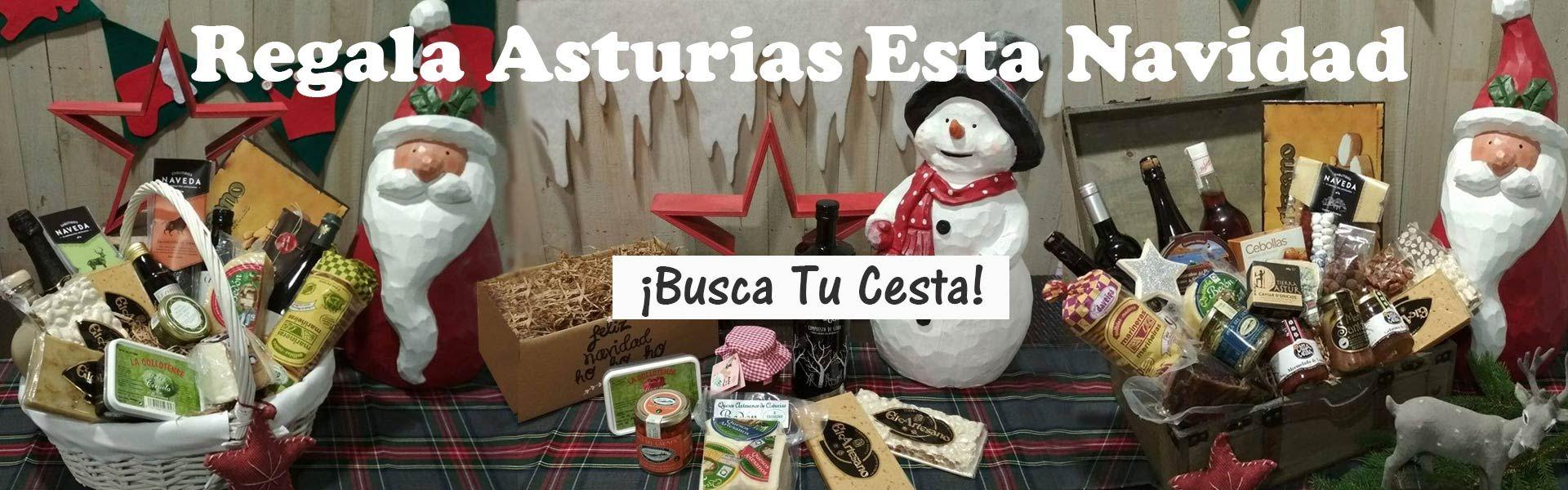 Cestas Navidad - Productos Asturianos Navidad