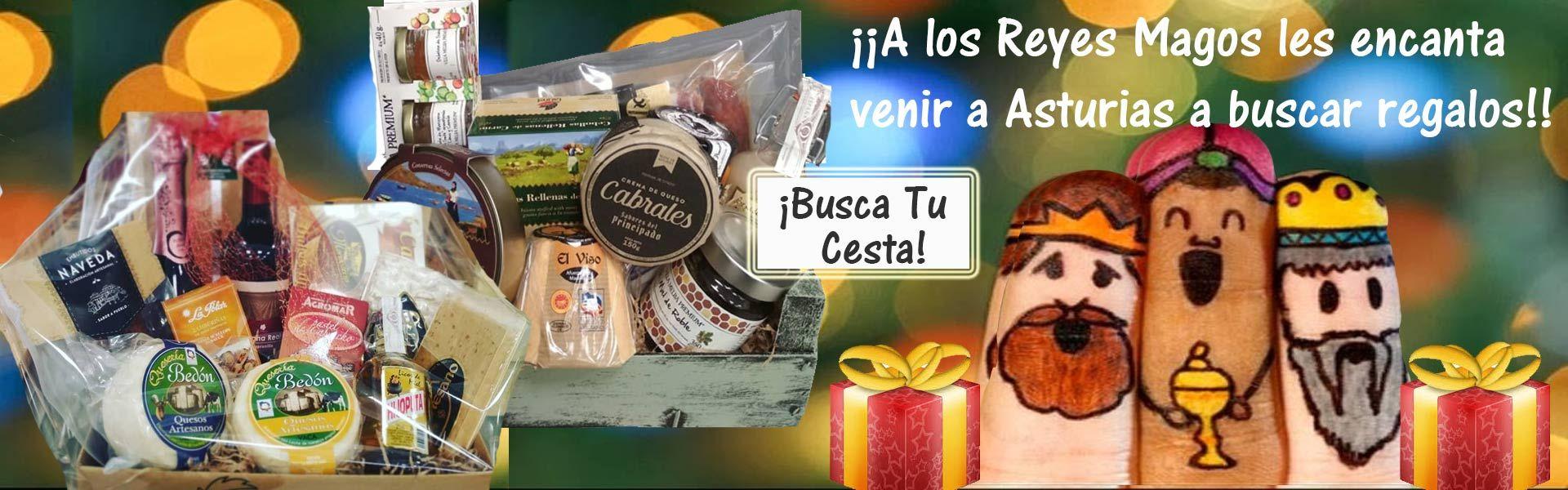 Cestas Navidad - Productos Asturianos para Regalos de Reyes