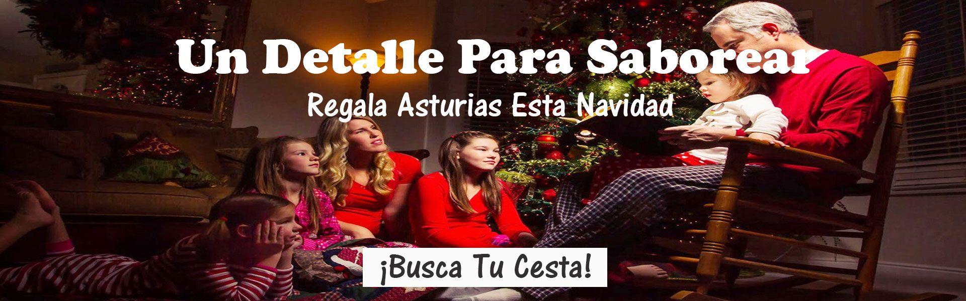 Cestas Navidad - Lotes Navidad - Productos Asturianos
